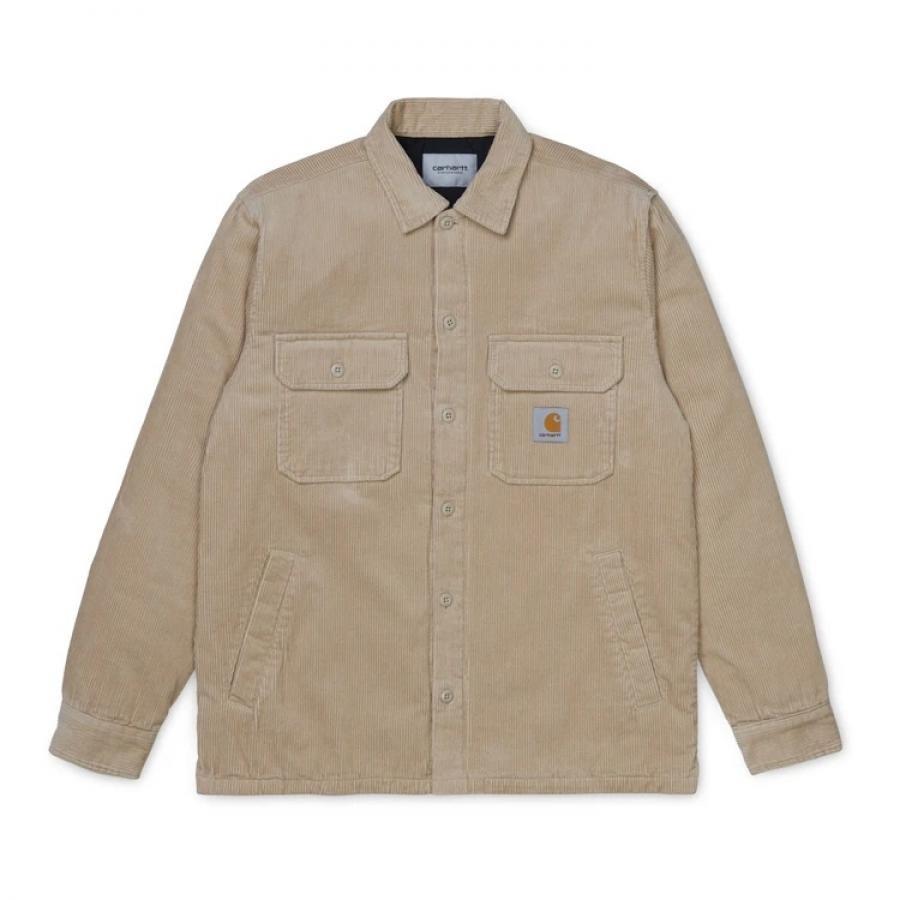 【送料無料】CARHARTTWIP I028827 Whitsome shirt jac WALL カーハートダブルアイピー ウィットサム シャツ ウォール