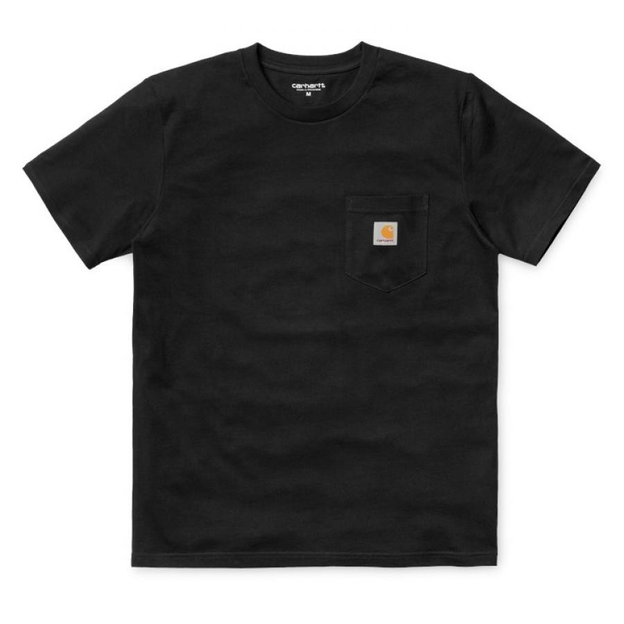 【送料無料】CARHARTT POCKET T-SHIRT - Black