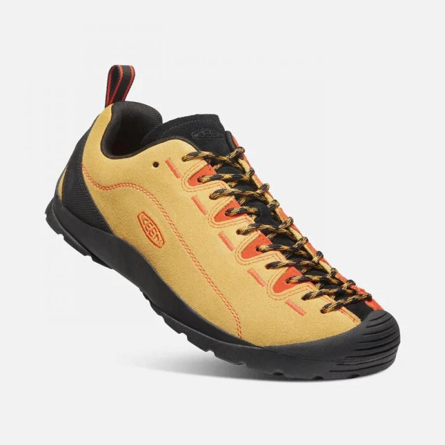 KEEN   ジャスパー  シューズ 1024719 OCHRE/SAFETY ORANGE