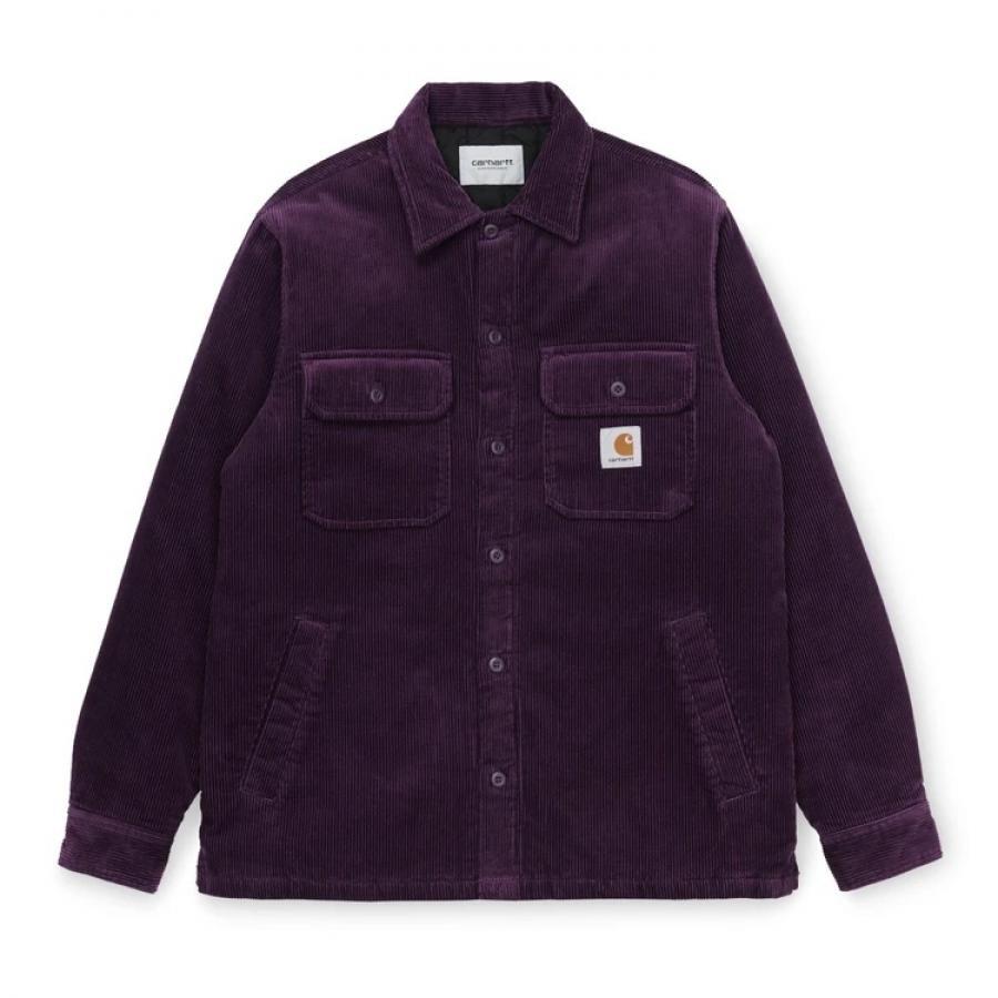 【送料無料】CARHARTTWIP I028827 Whitsome shirt jac Boysenberry カーハートダブルアイピー ウィットサム シャツ ボーイセンベリー