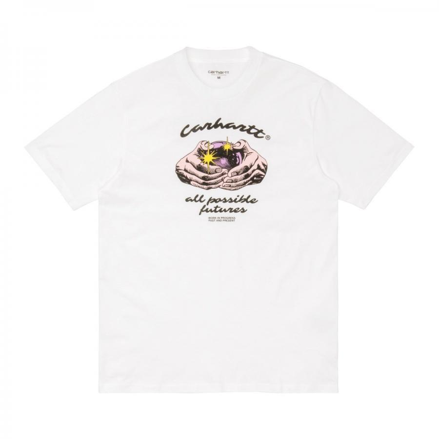 CARHARTTWIP カーハート S/S FORTUNE T-SHIRT - White  I029054【ムラサキスタイル】