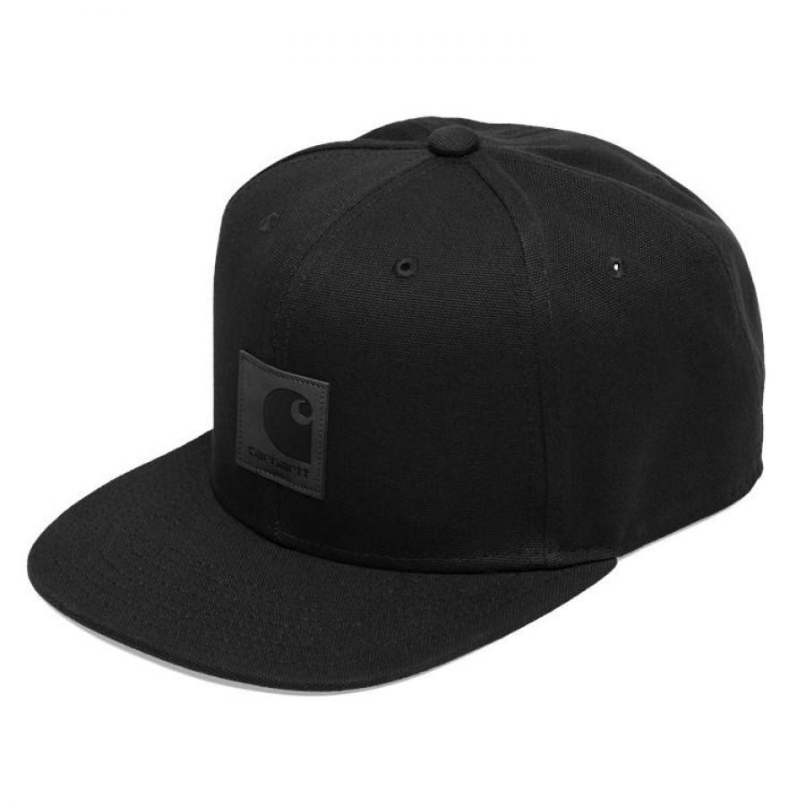 CARHARTTWIP ロゴキャップ LOGO CAP - Black I023099