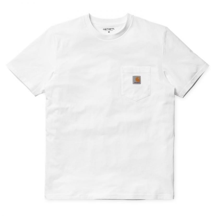 【送料無料】CARHARTT POCKET T-SHIRT - White