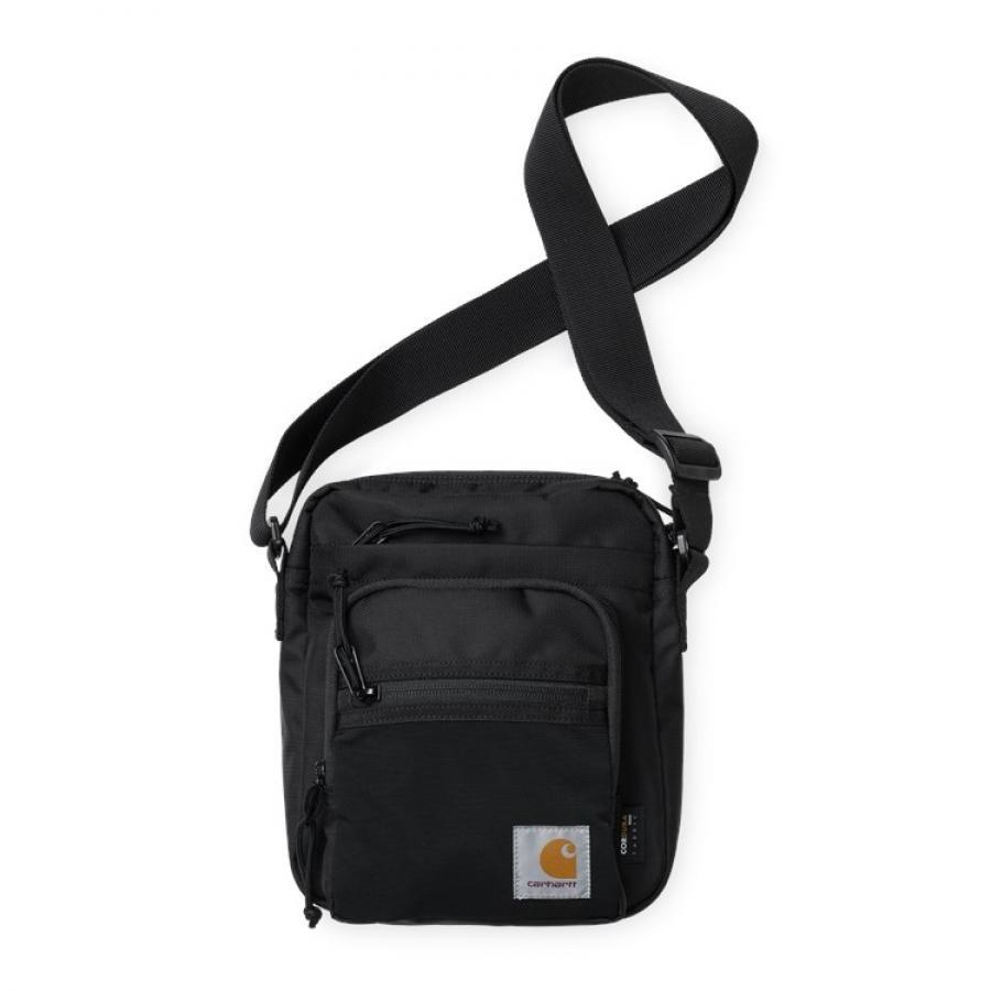 【送料無料】CARHARTT DELTA STRAP BAG - Black