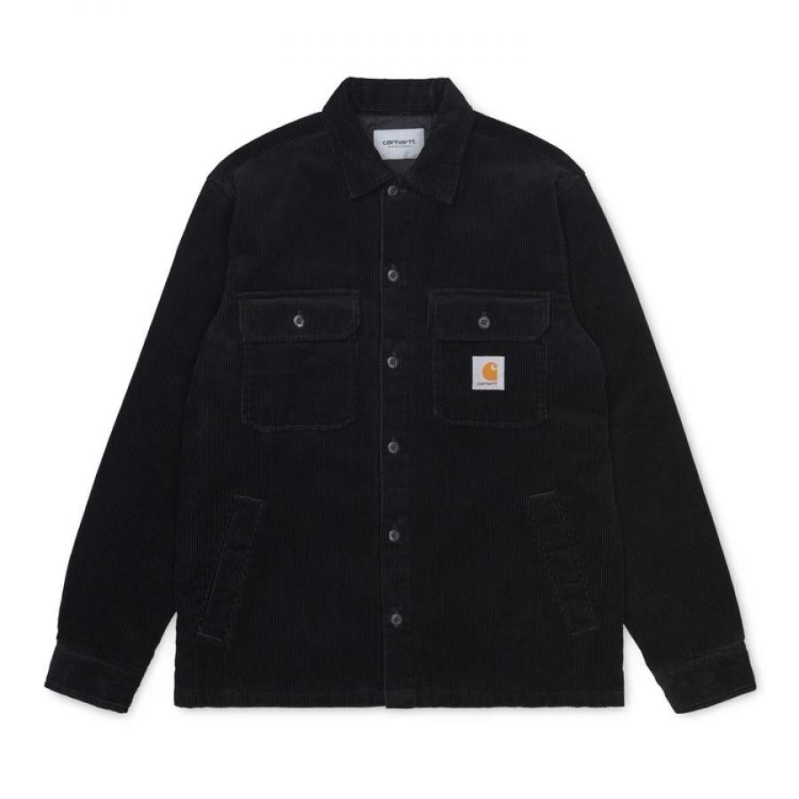 【送料無料】CARHARTTWIP I028827 Whitsome shirt jac BLACK カーハートダブルアイピー ウィットサム シャツ ブラック