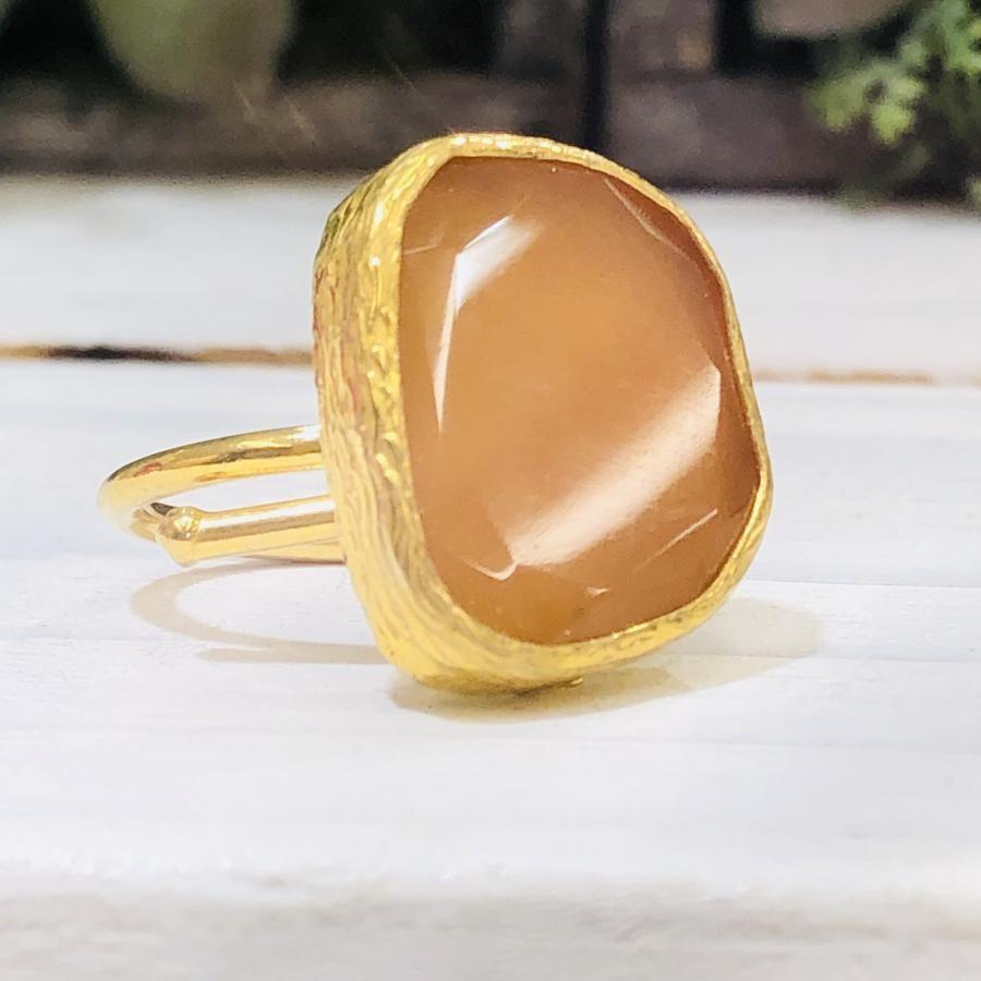P 1stone ring ①