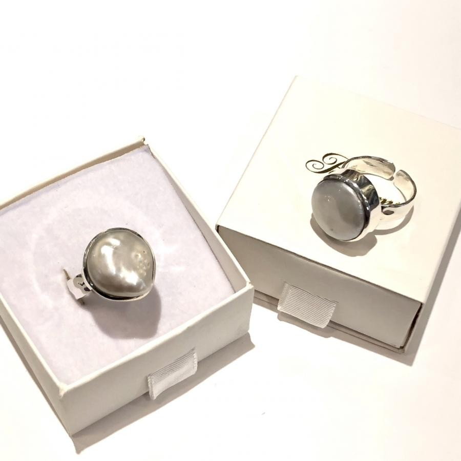 Silver925 Pearl ring