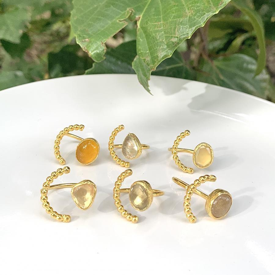 Brass tsubu ring 2