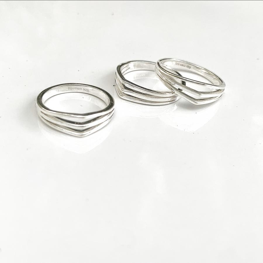 Silver925 simple ring 5