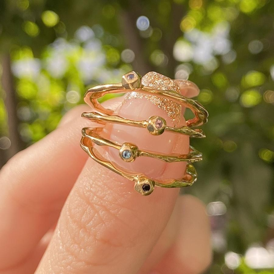 Brass petit ring