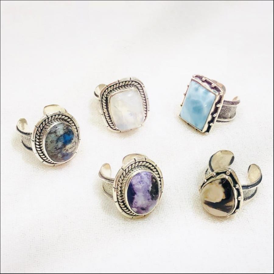 天然石 Silver925 Ring