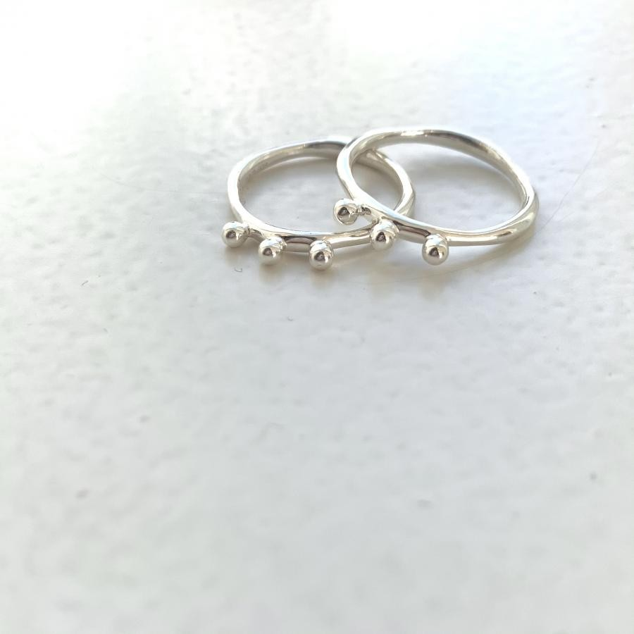 Silver925 simple ring 8
