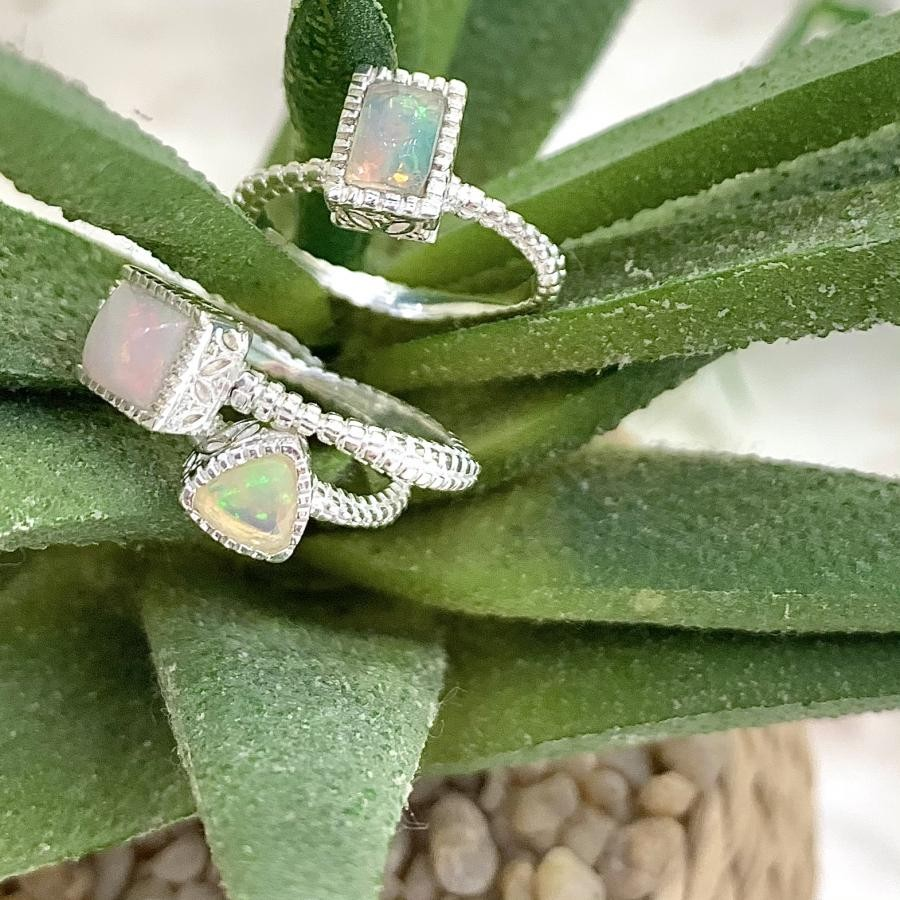 Silver925 Opal ring 2