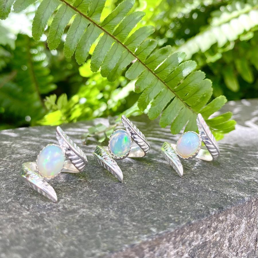 【オンライン先行】Opal wing ring