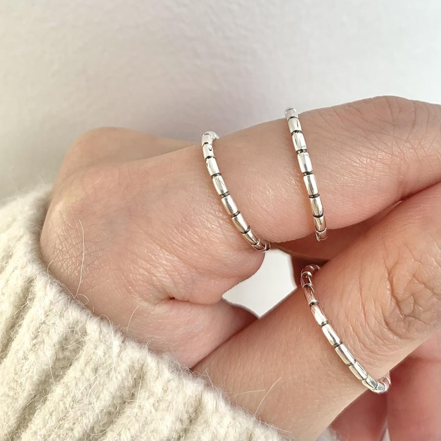 Silver925 simple ring11
