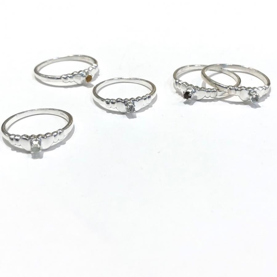 新作☆Silver925 Design heart ring