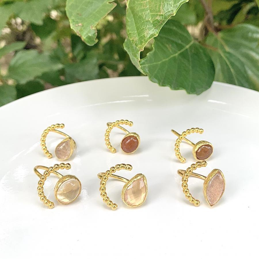 Brass tsubu ring 1