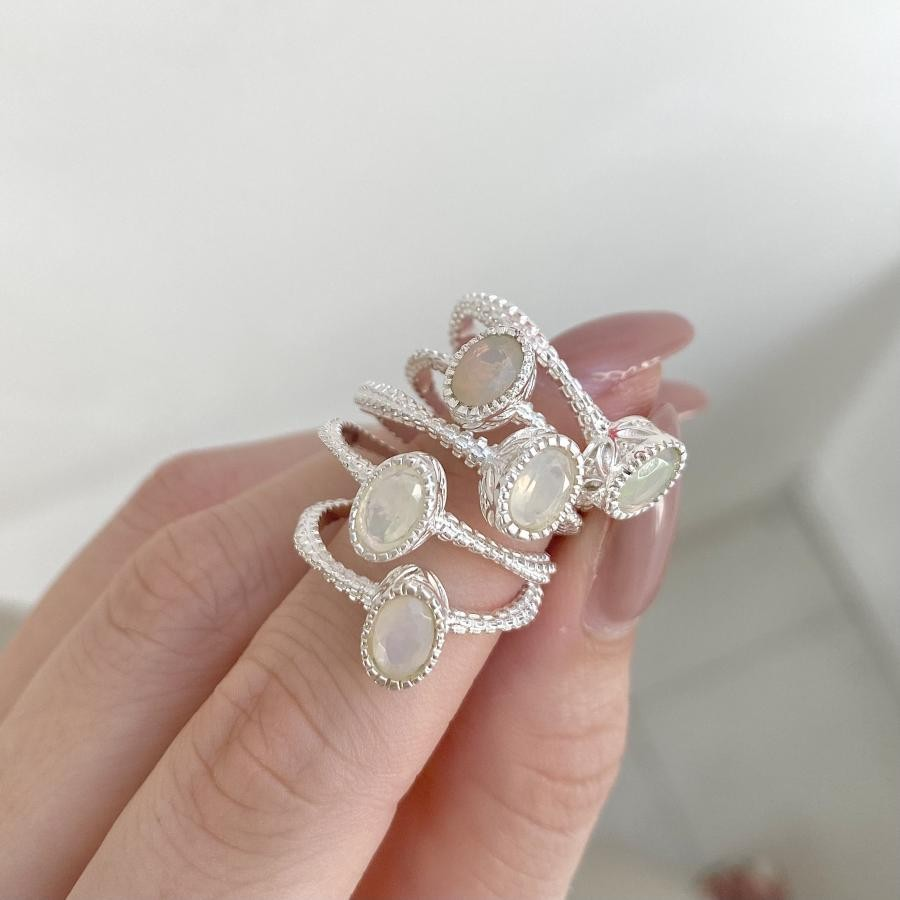 Silver925 opal ring 3