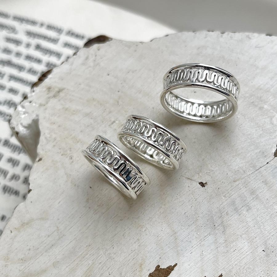 Silver925 plain ring14