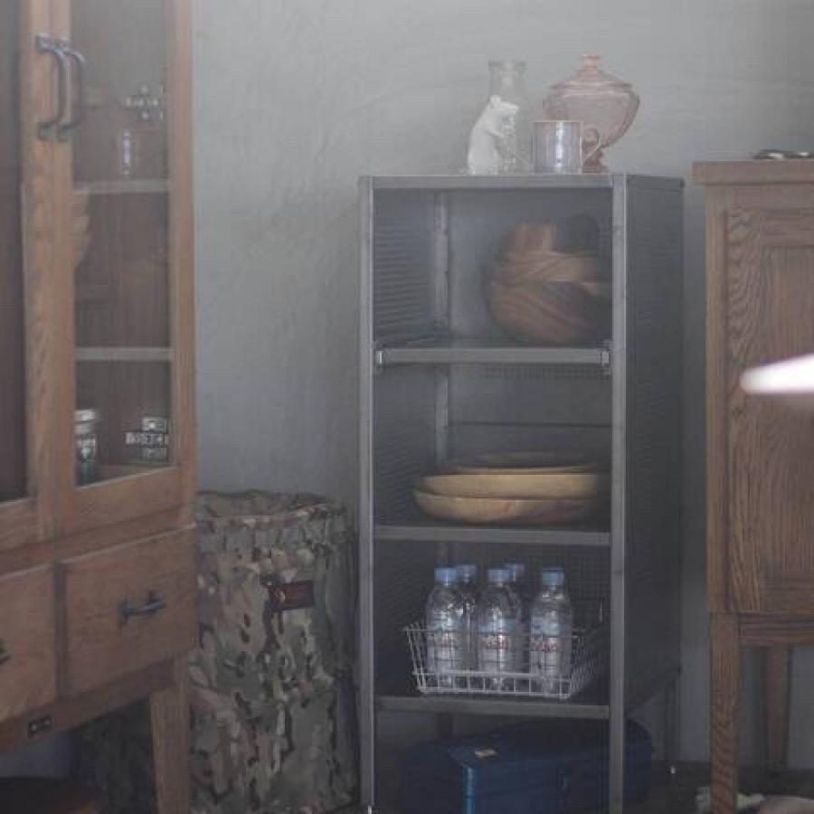 【展示品30%OFF】ALLEN STEEL SHELF  S ANPAINTED 家具