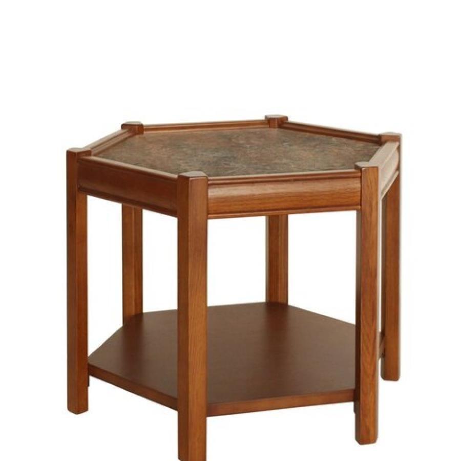 【展示品10%OFF】BROOKS HEXAGON TABLE_lino(GRY)