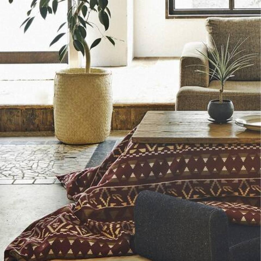 CS FUTON COVERLET / WOOL NATIVE