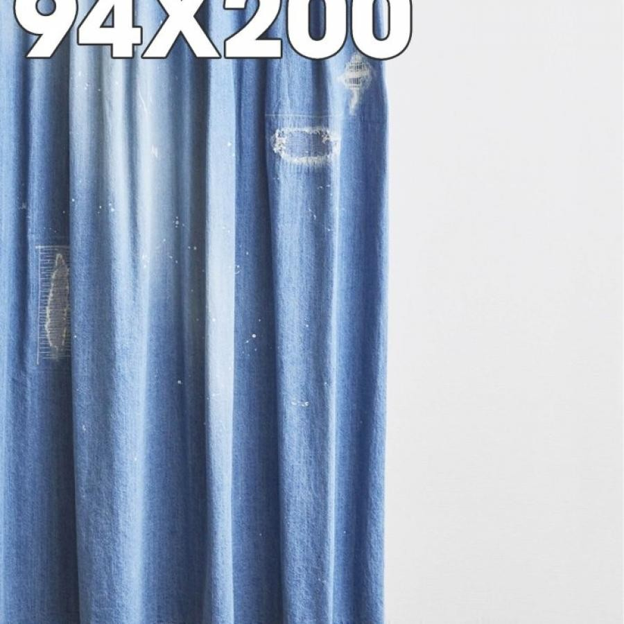 DAMAGE DENIM CURTAIN 94*200