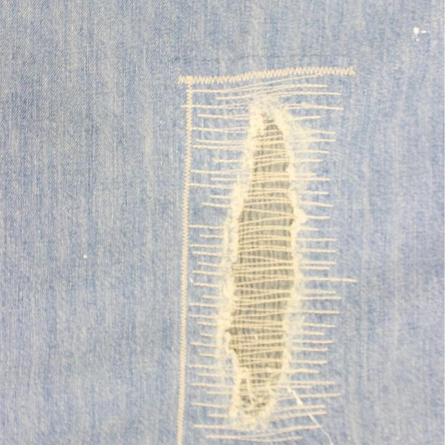 DAMAGE DENIM CURTAIN 94*178