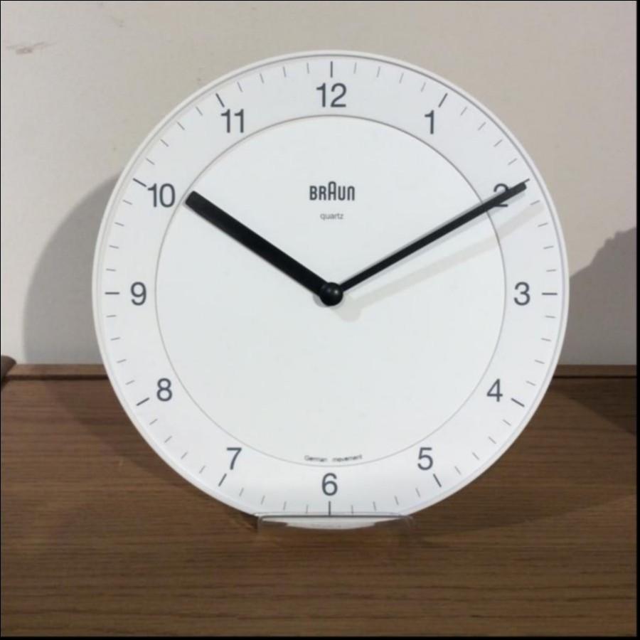 【宮原様】BRAUN Wall Clock BNC006-NRC