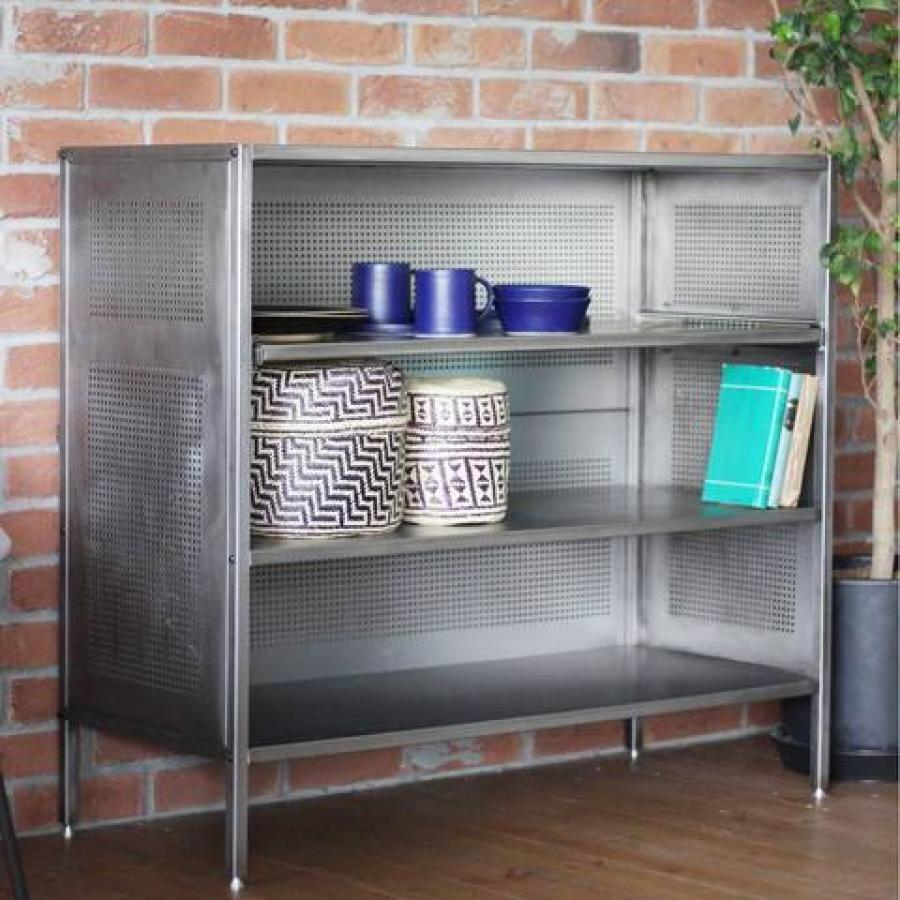 【予約商品】ALLEN STEEL SHELF (UNPAINTED) 家具