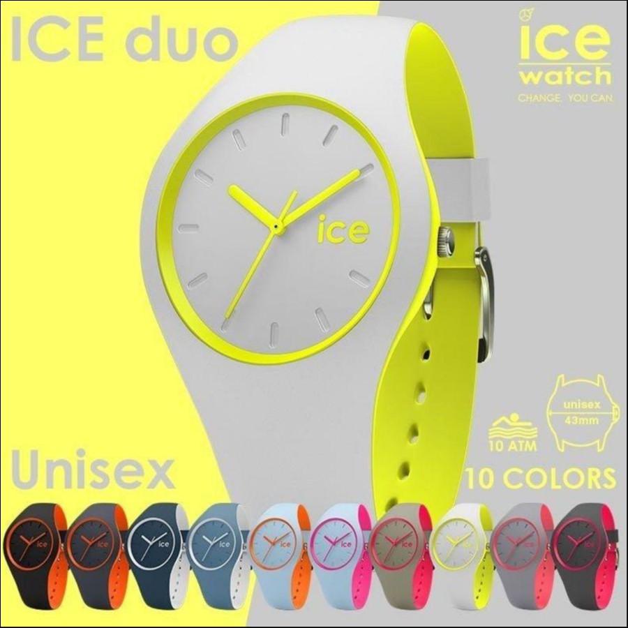 日本正規代理店公式ショップ アイスウォッチ 公式ストア ICE-WATCH アイスウォッチ ICE DUO アイスデュオ (ユニッセクスサイズ)10色