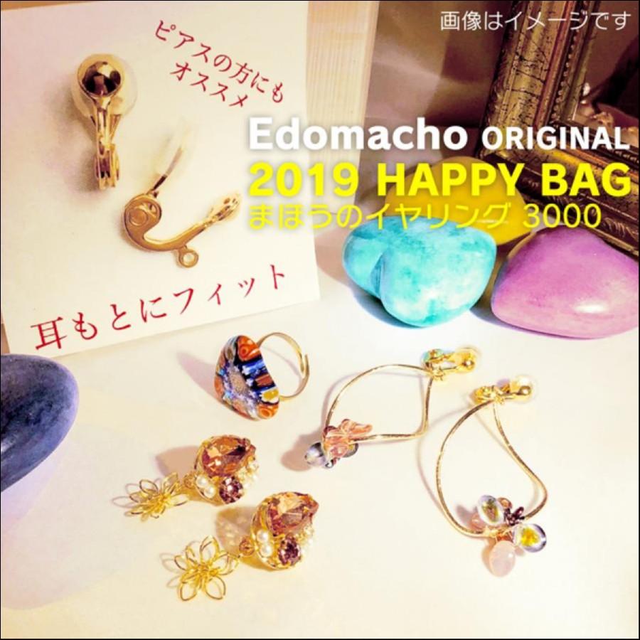 【福袋】エドマッチョオリジナルブランド 2019 HAPPY BAG 魔法のイヤリング3000