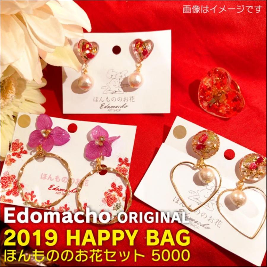 【福袋】エドマッチョオリジナルブランド 2019 HAPPY BAG ほんもののお花セット 5000