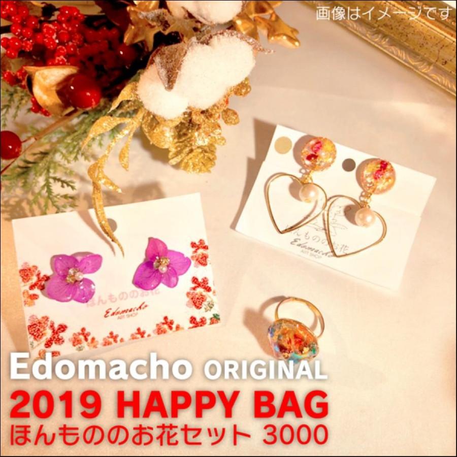 【福袋】エドマッチョオリジナルブランド 2019 HAPPY BAG ほんもののお花セット 3000
