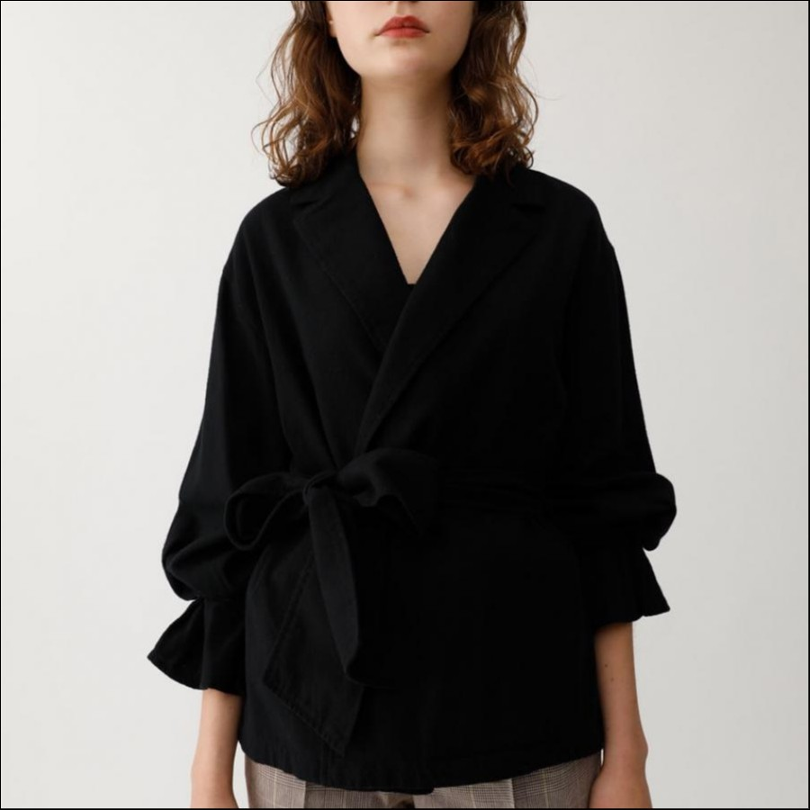 BELTED SLEEVE シャツ