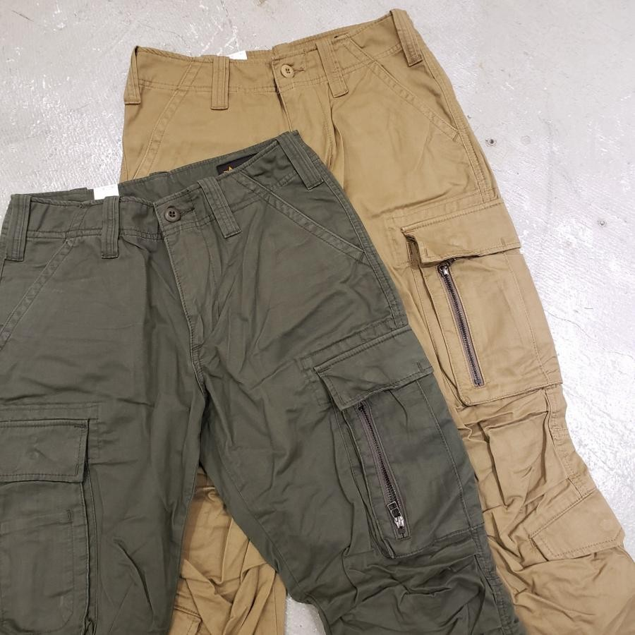 8 POCKET ZIP CARGO