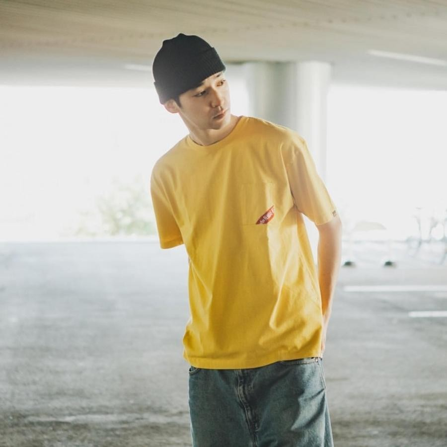 S/S RBF RIBBON BIG POCKET-Tee