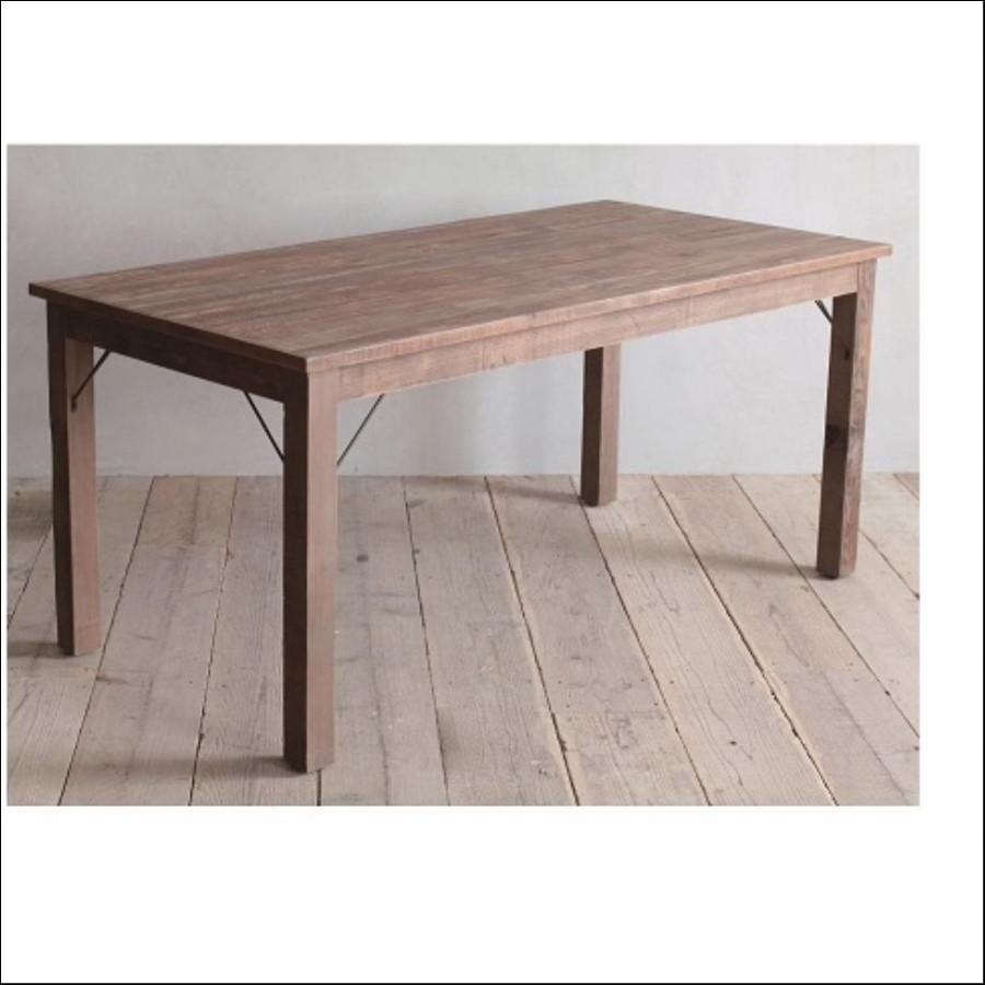 ヨハン ダイニングテーブル <パイン古材> W1400