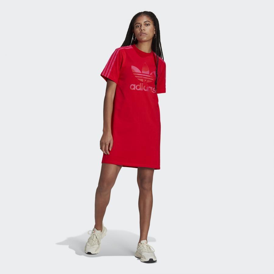 TEE DRESS マリメッコ トレフォイル プリント インフィル Tシャツ ワンピース