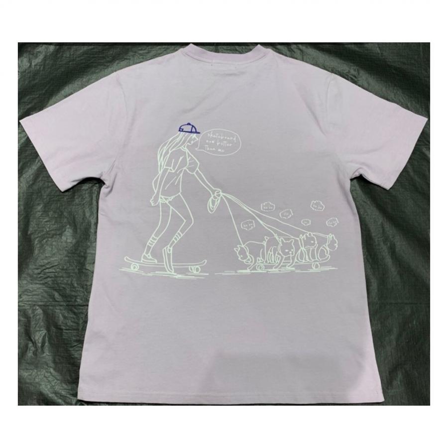 dog散歩Tシャツ