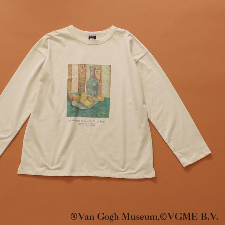 【Van Gogh Museumコラボ】オーバーサイズロングスリーブTee