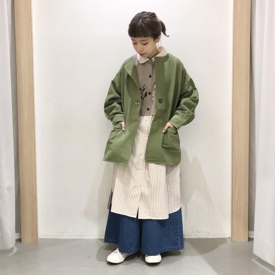 【FUDGEONLINEコラボ】ひとつボタンワークジャケット
