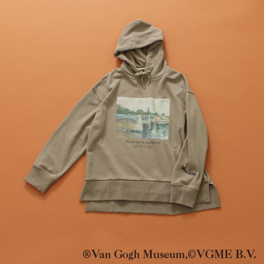 【Van Gogh Museumコラボ】フーデッドスウェットシャツ