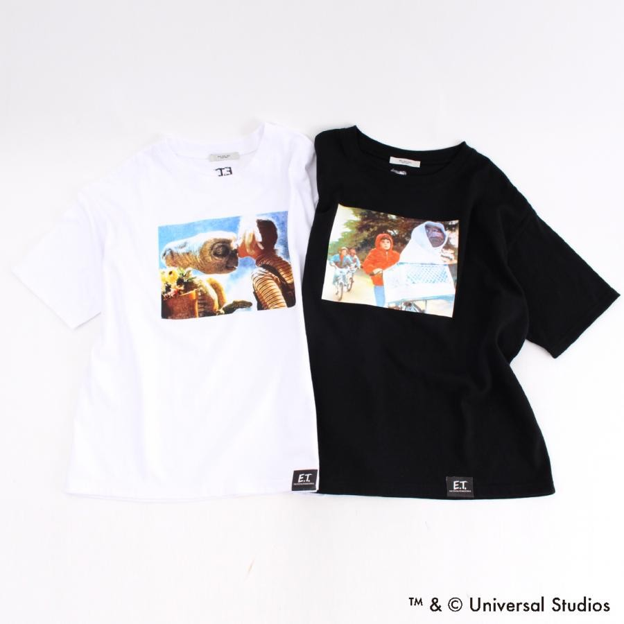 E.T. Film Stills Print Tシャツ 【限定商品】