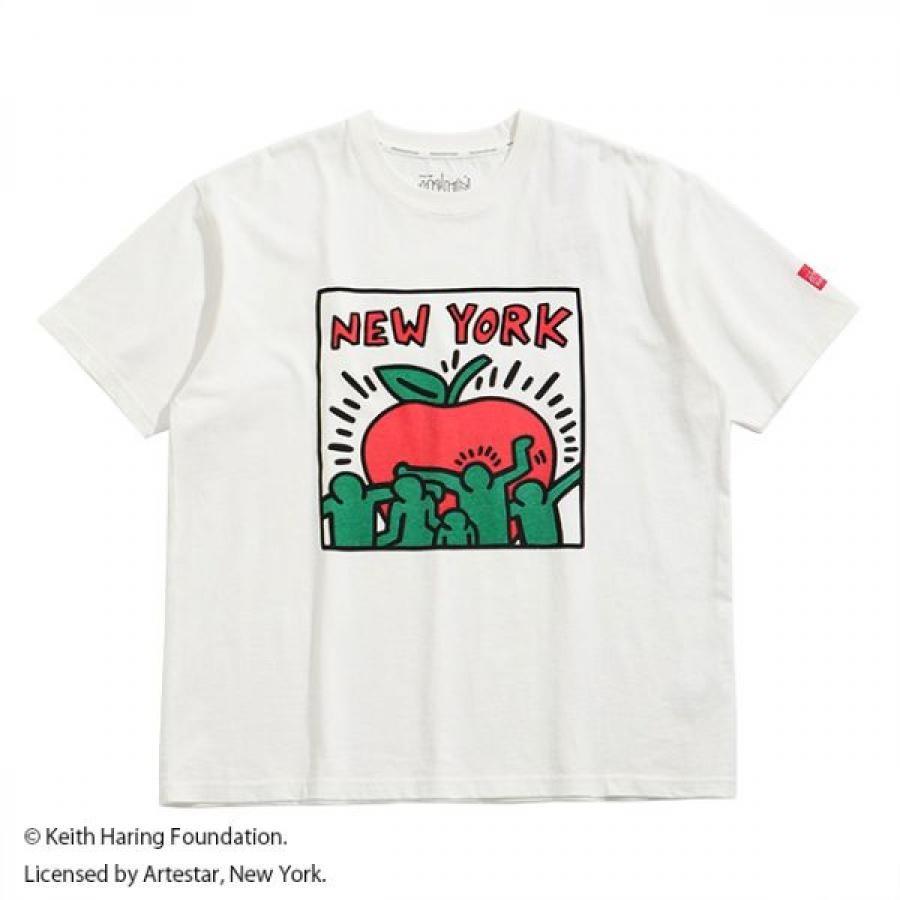 Short Sleeve Print T-Shirt Keith Haring