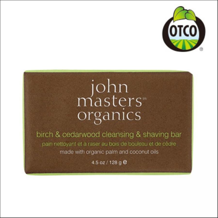 john masters organics B &C ソープ(バーチ &シダー)