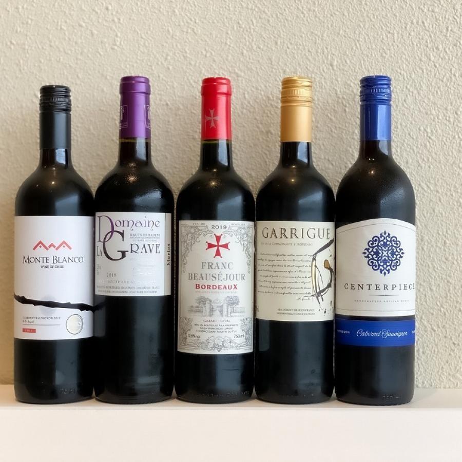 【赤ワイン】10月ワインバスケット【5本セット】