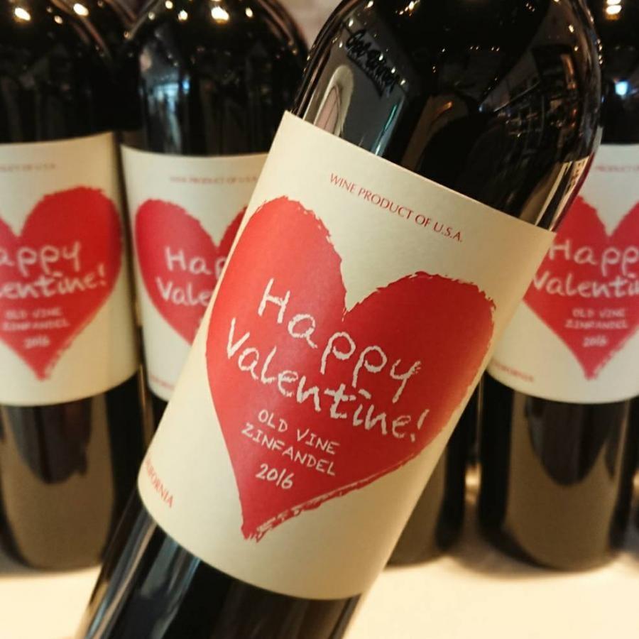 【ご予約】ハッピー・バレンタイン ジンファンデル 2016【2021年1月30日以降お届け予定】