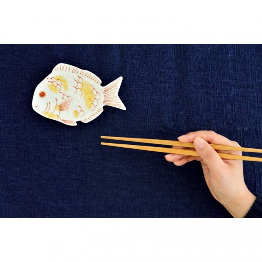 赤目鯛型 銘々皿 / 幸楽窯