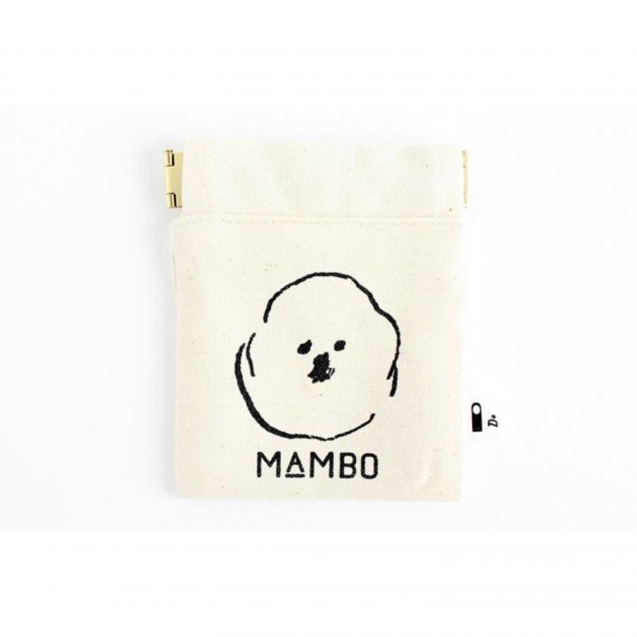 MAMBO フラットバネポーチ mini 生成り / DO Original